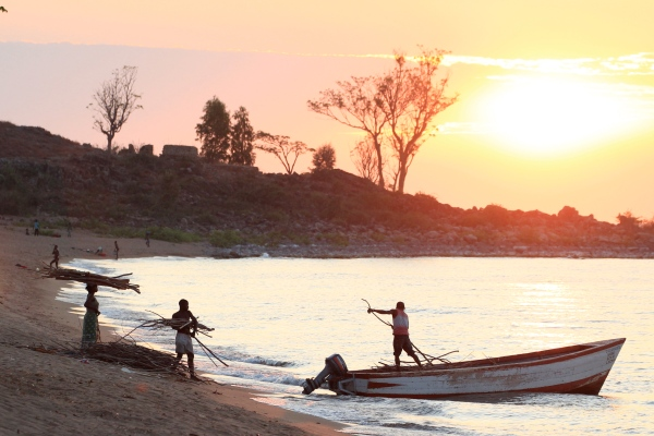 Likoma Island Sunset - designed to whet your appetite for the photo gallery below. First, you must read!