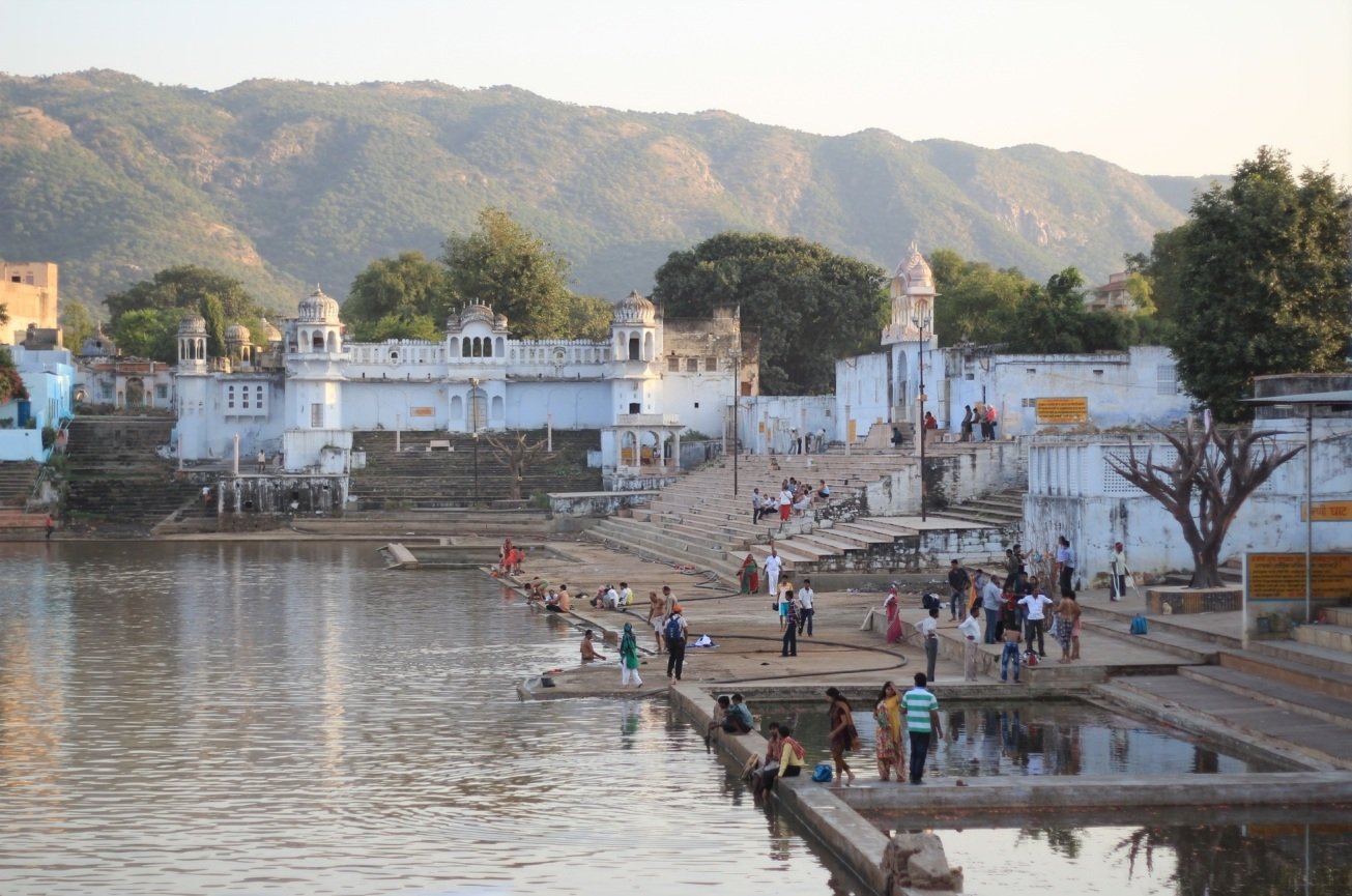 temples in Pushkar, India