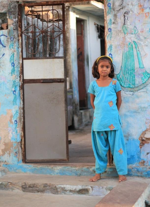 Pushkar young girl