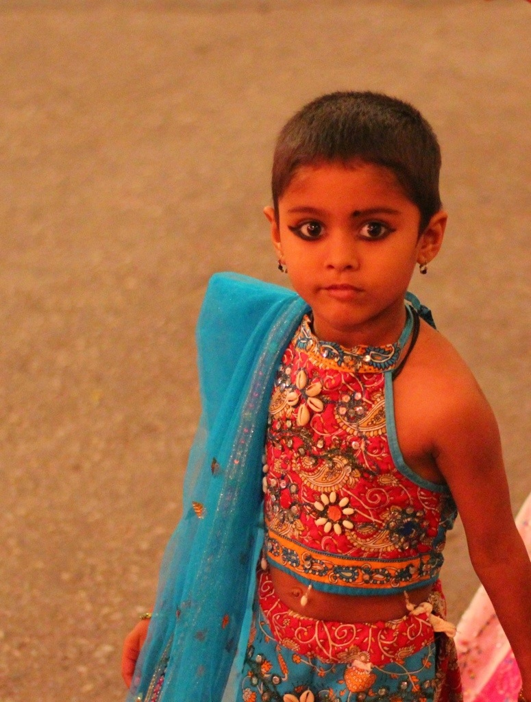 Child at Festival in India