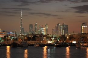 Being Rich Ain't Cheap, or Two Backpackers Stay at a 5-Star Hotel inDubai.