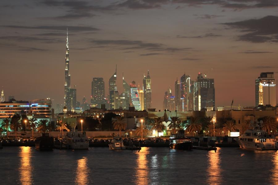 Dubai Skyline Sheraton Hotel