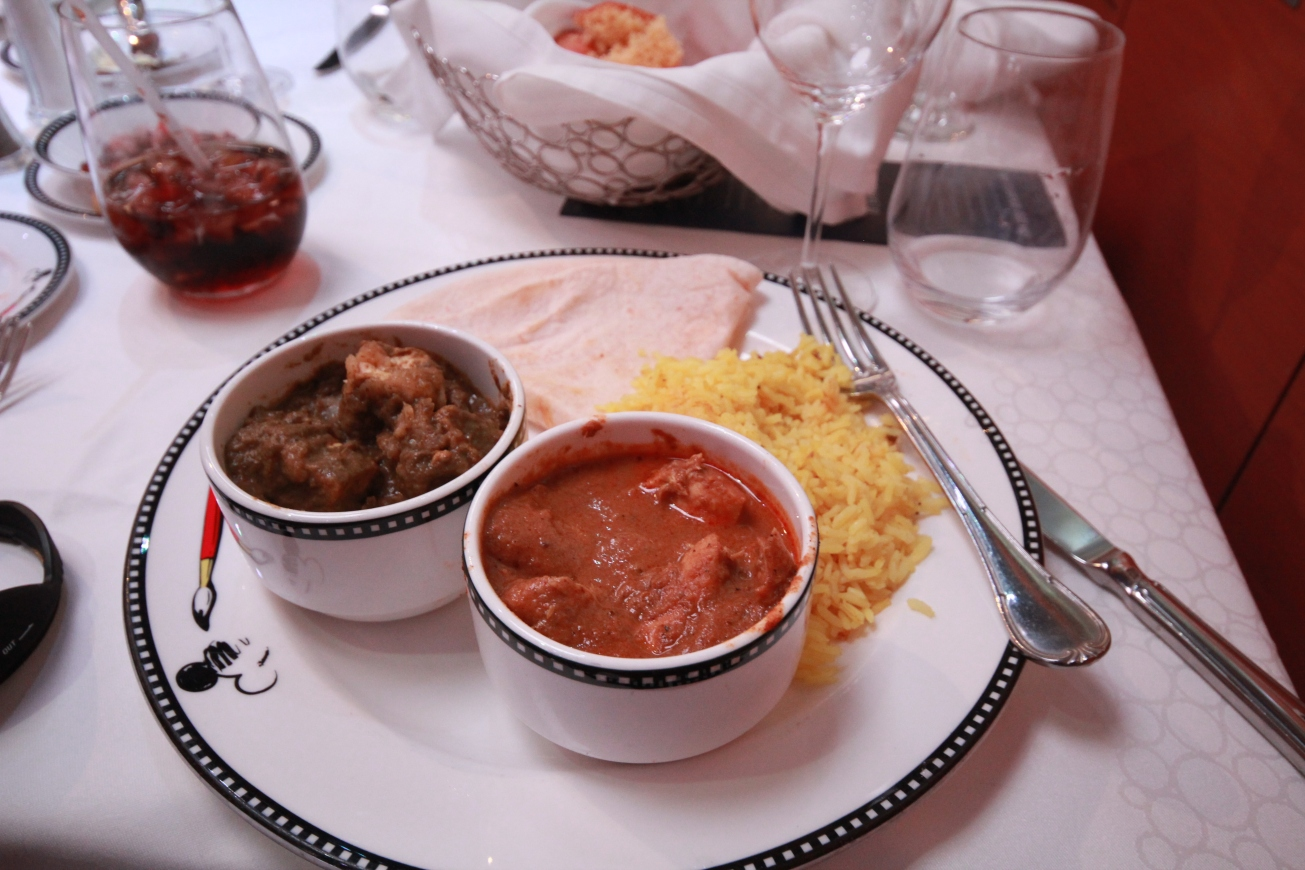 The restaurant manager was from India. We told him we'd recently visited and loved the food, so they specially prepared Indian food for us. That is excellent service.