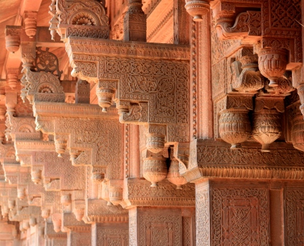 Agra Fort Carvings