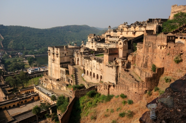 The Bundi Palace standing sentinel over the city