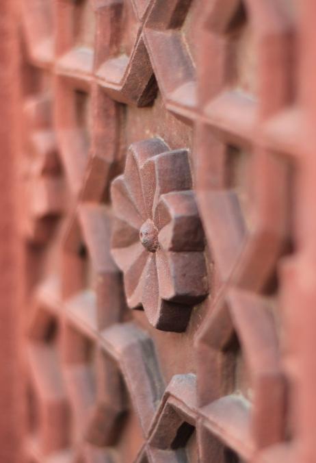 Detailed carving in Rajastan