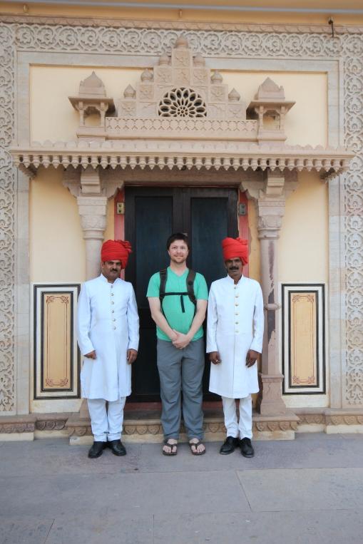 Guards at the Jaipur City Palace