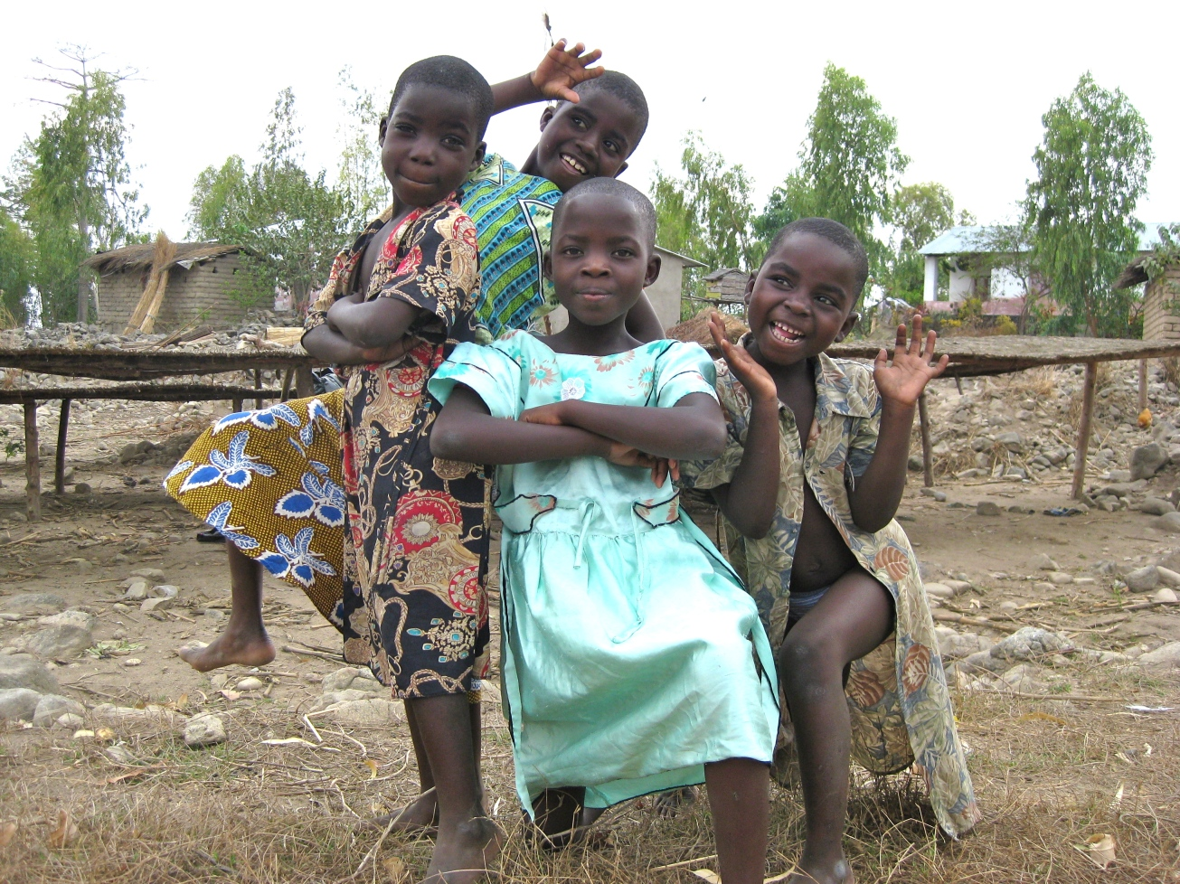 Likoma Island Kids posing for a photo