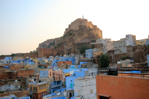 Fort rising above Jodhpur