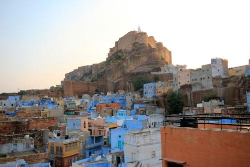 Fort rising above Jodhpur