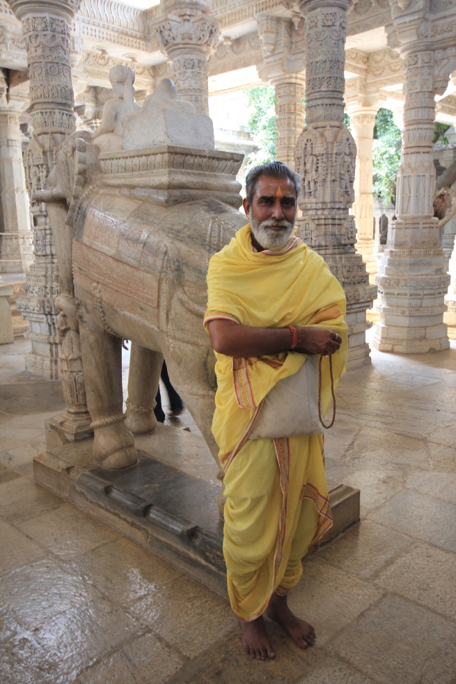 Jain Priest at the Ranakpur Temple
