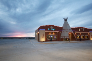 El Tipi quick stop. Simply a modern work of art.