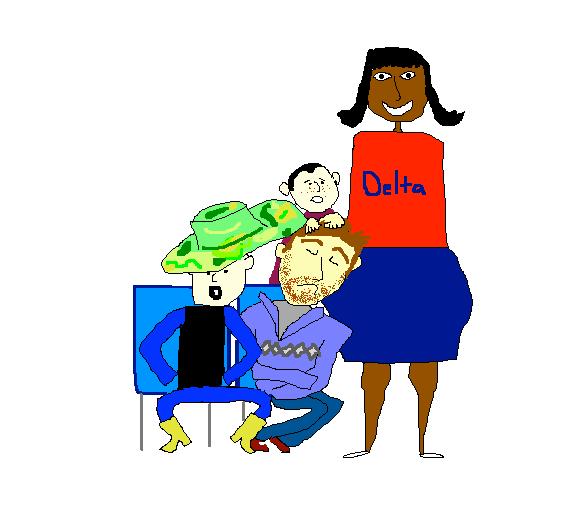 Airline Travel Cartoon