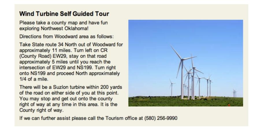 Turbine Tour gowoodward.com