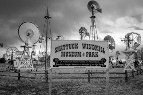 Shattuck Windmill Park SIgn