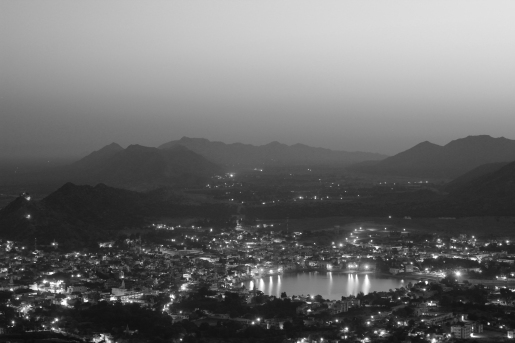 Pushkar in Black and White