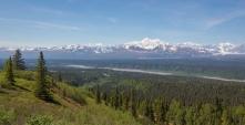 Mt. McKinley from Denali state park