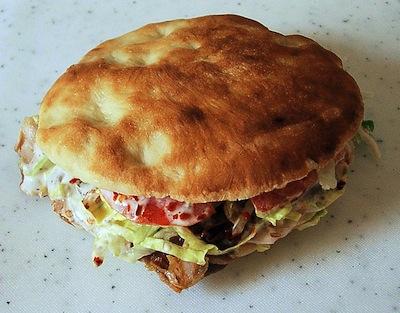 Doner Kebab - the world's greatest sandwich.