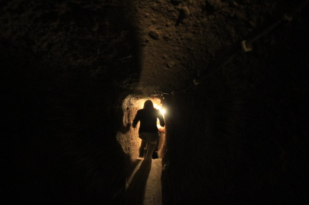 Kayseri Underground City Narrow