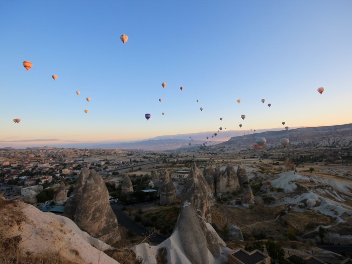 Hot Air Balloons over Cappadocia