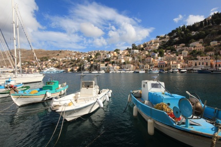 Symi Greece Boats