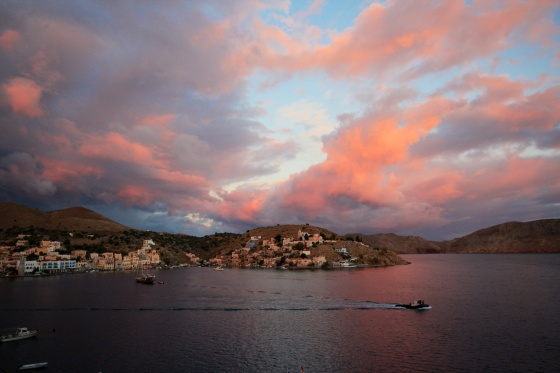Symi sunrise