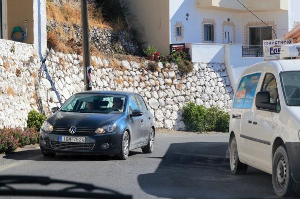 Greece Crete driving