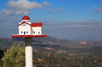 Crete Roadside shrine.
