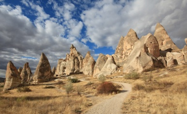 Red valley trail cappadocia goreme