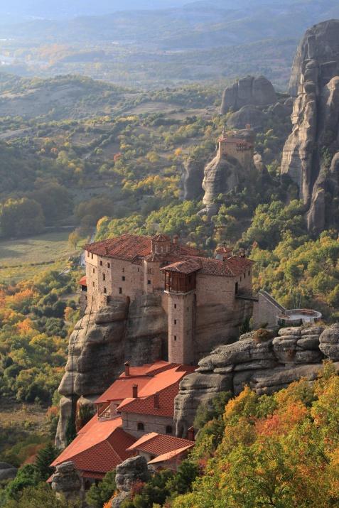 Meteora Monestary Greece