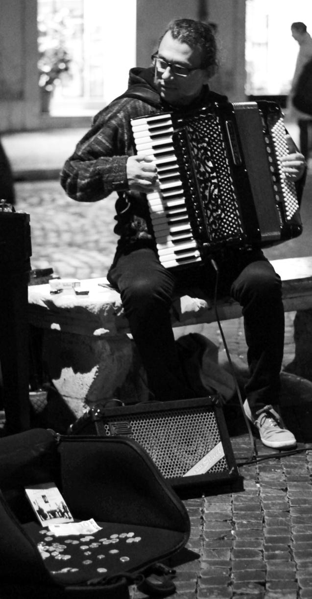 piazza navona musician