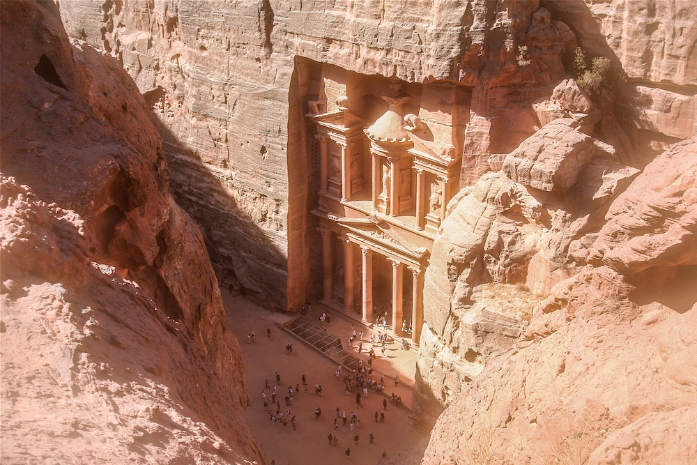 Petra Jordan from Above