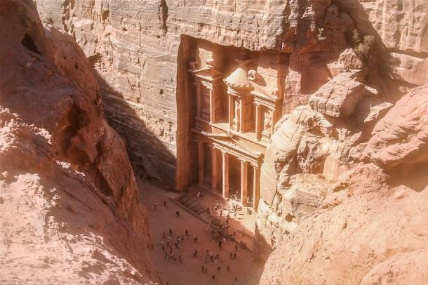 Petra Jordan from Above