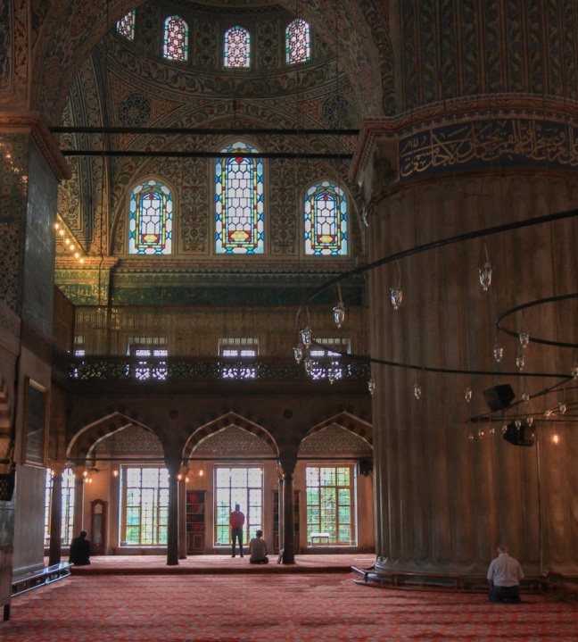 Istanbul Blue Mosque.