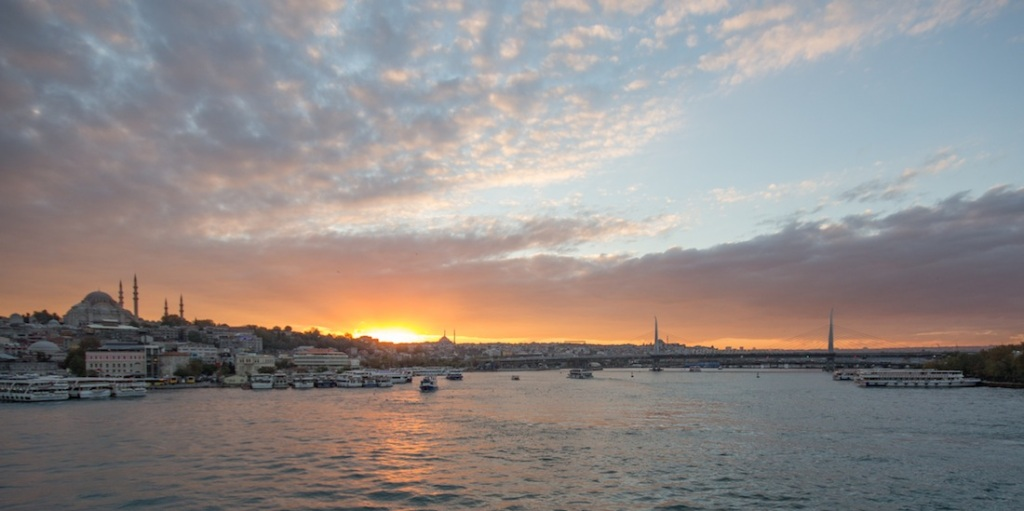 Galata Bridge Sunset
