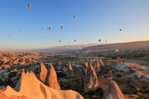 Cappadocia Hot Air Balloons at Sunrise