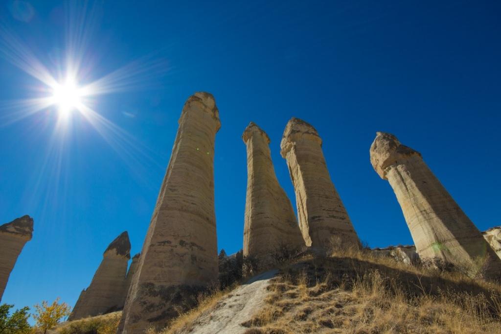 Cappadocia Penis rocks