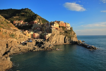Manarola, Italy, on the Cinque Terra