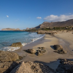 Falasarna Beach in Crete