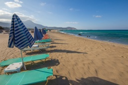 Elefonisi Beach empty
