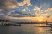 Hania Greece Sunset