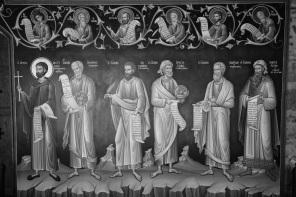 Meteora mural