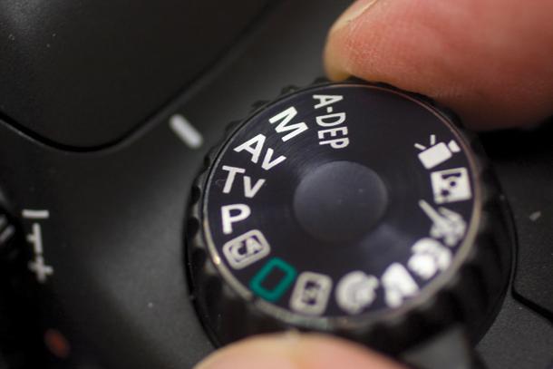 Canon DSLR AV Mode