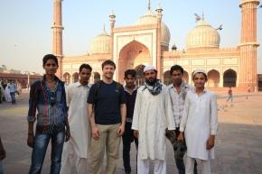 Being a Celebrity at Jama Masjid and OldDelhi