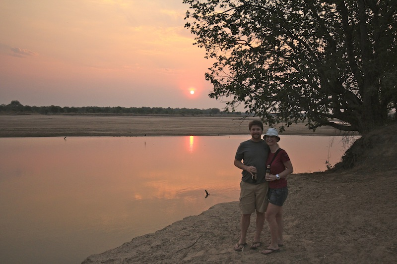 Bell bar in South Luangwa, Zambia