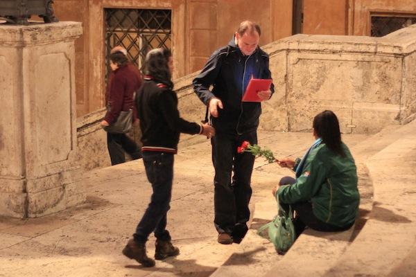 Rose Scam fail in Rome