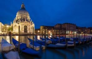 The San Giorgio Maggiore at the Blue Hour