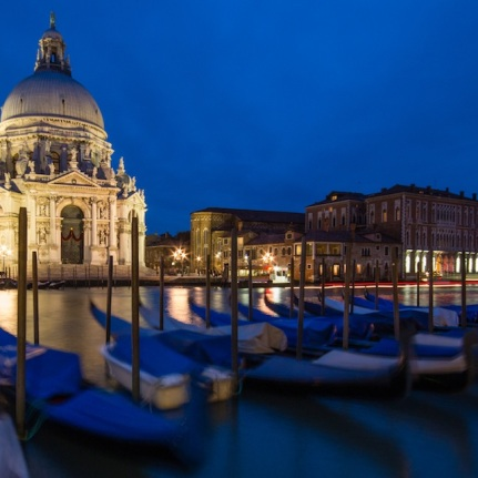 The San Giorgio Maggiore at the Blue Hour