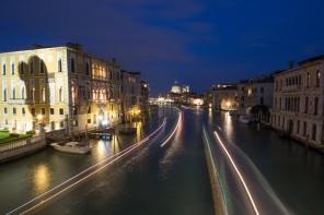 Grand Canal Venice blue hour