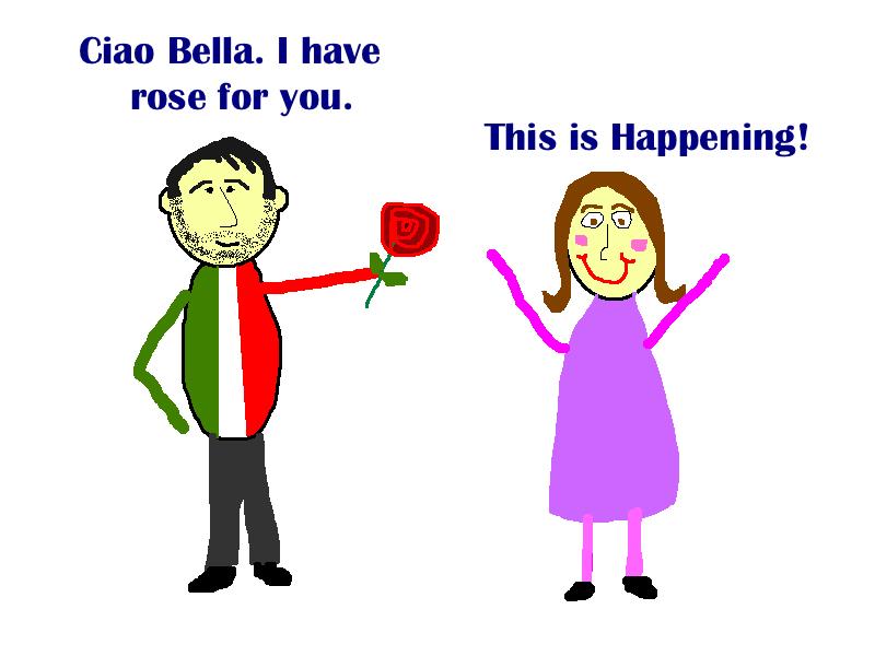 Rose Scam in Italy